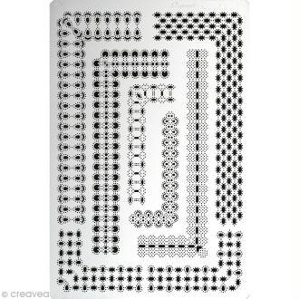 Grille Pergamano 12 - Bordures victoriennes (31422)