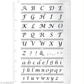 Grille Pergamano 16 - Alphabet (31426)