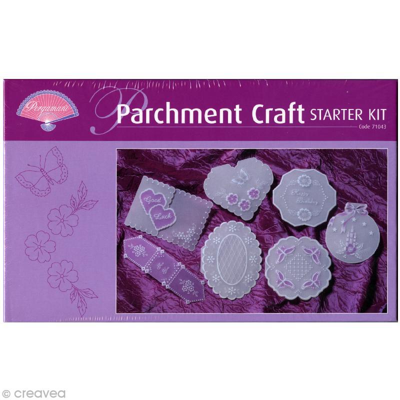 Kit pergamano d butant 71043 kits pergamano creavea for Papier parchemin cuisine