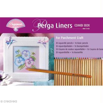 Perga Liners Aquarelle Pergamano - 36 crayons (21452)