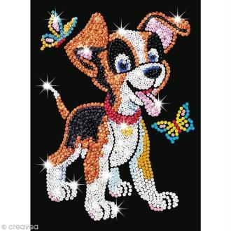 Sequin Art Junior - Puppy le Chiot