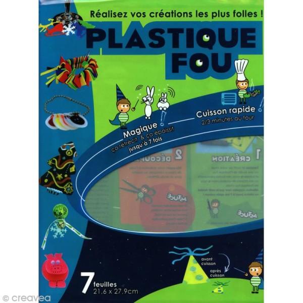 Plastique Fou - Cristal - 7 feuilles - Photo n°1