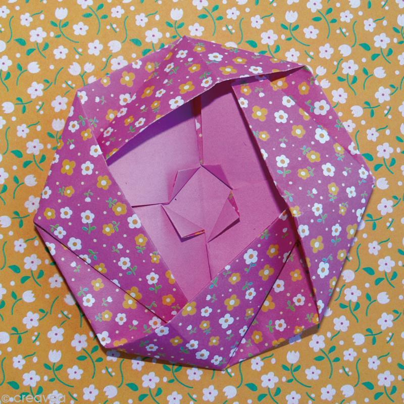 papier origami japonais assortiment 20 feuilles fleurs 15 x 15 cm papier origami creavea. Black Bedroom Furniture Sets. Home Design Ideas