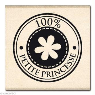 Tampon Naissance - Bulle petite Princesse