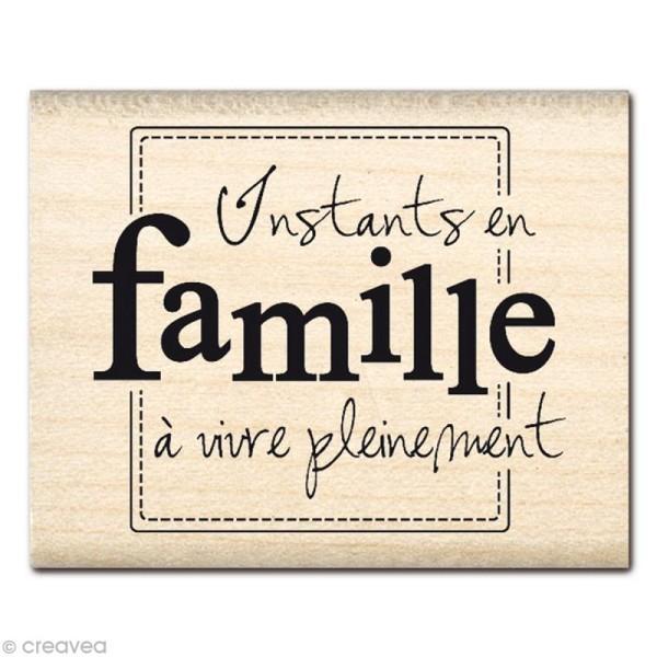 Tampon Souvenirs - Instants en famille - Photo n°1