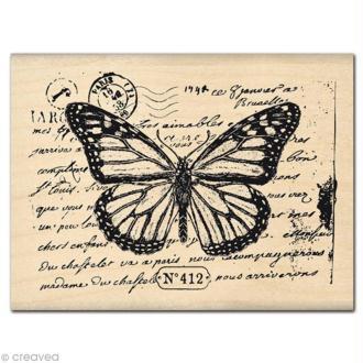 Tampon Animaux - Papillon 412
