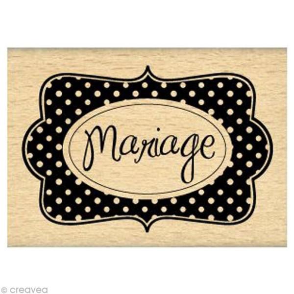 Tampon - Mariage à Pois - Photo n°1
