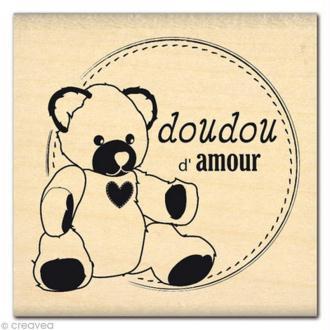 Tampon Naissance - Doudou d'Amour