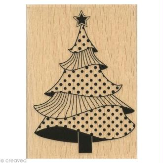 Tampon Noël - Sapin Majestueux