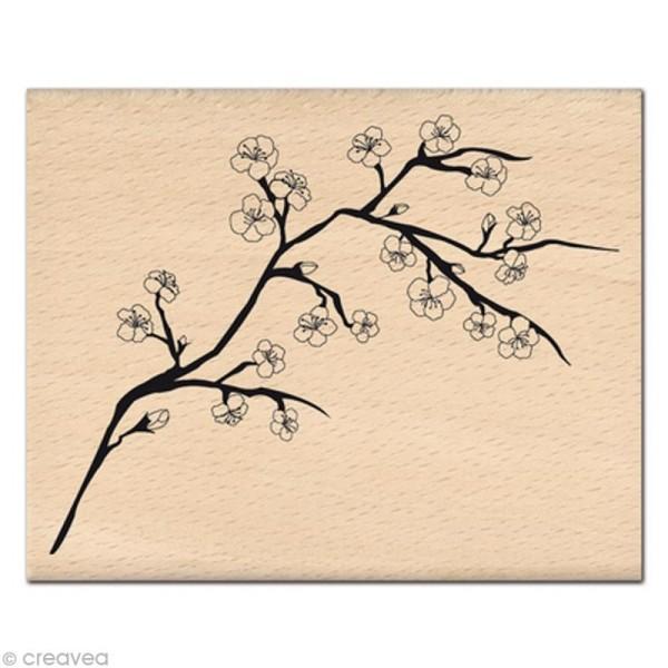 Tampon Nature - Branche de Cerisier - Photo n°1