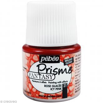 Peinture Fantasy Prisme Brillant Rose Glacé - 45 ml
