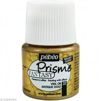 Peinture Fantasy Prisme Brillant Vieil Or - 45 ml