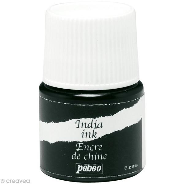 Encre de Chine Noir India Ink 20 ml - Photo n°1