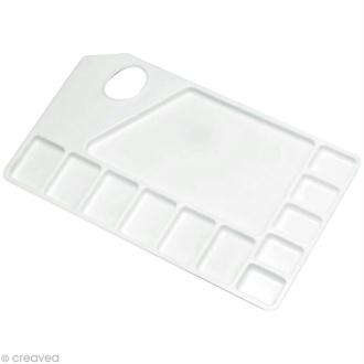Palette Plastique Pébéo - 11 godets