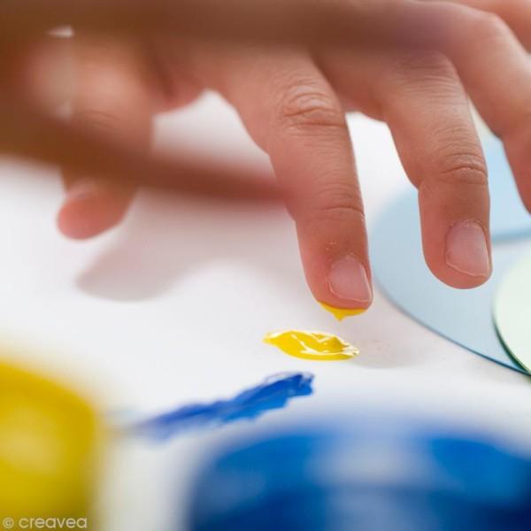 Kit de peinture aux doigts Tactil Color - 3d Bubble Nacrées - 6 x 100 ml - Photo n°4