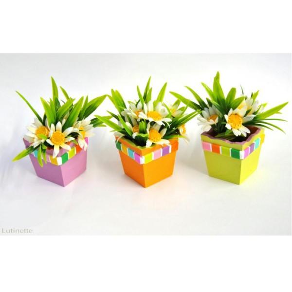 Mini vase en bois 5 cm - Photo n°2