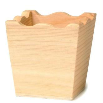 Mini vase en bois 5 cm