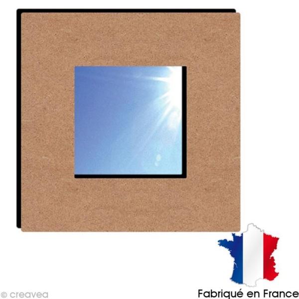 Miroir à décorer Carré - 23 x 23 cm - Photo n°1