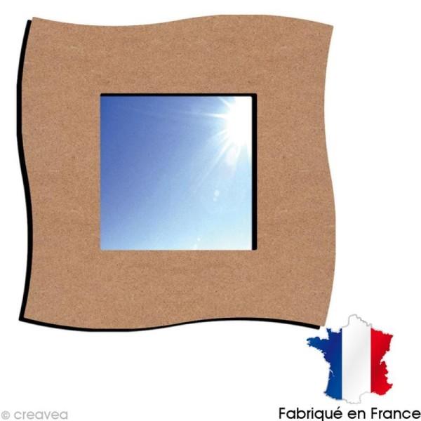 Miroir à décorer Twist - 38 x 38 cm - Photo n°1