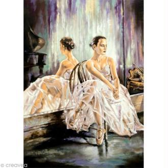 Image 3D Femme - Danseuse Classique - 24 x 30 cm