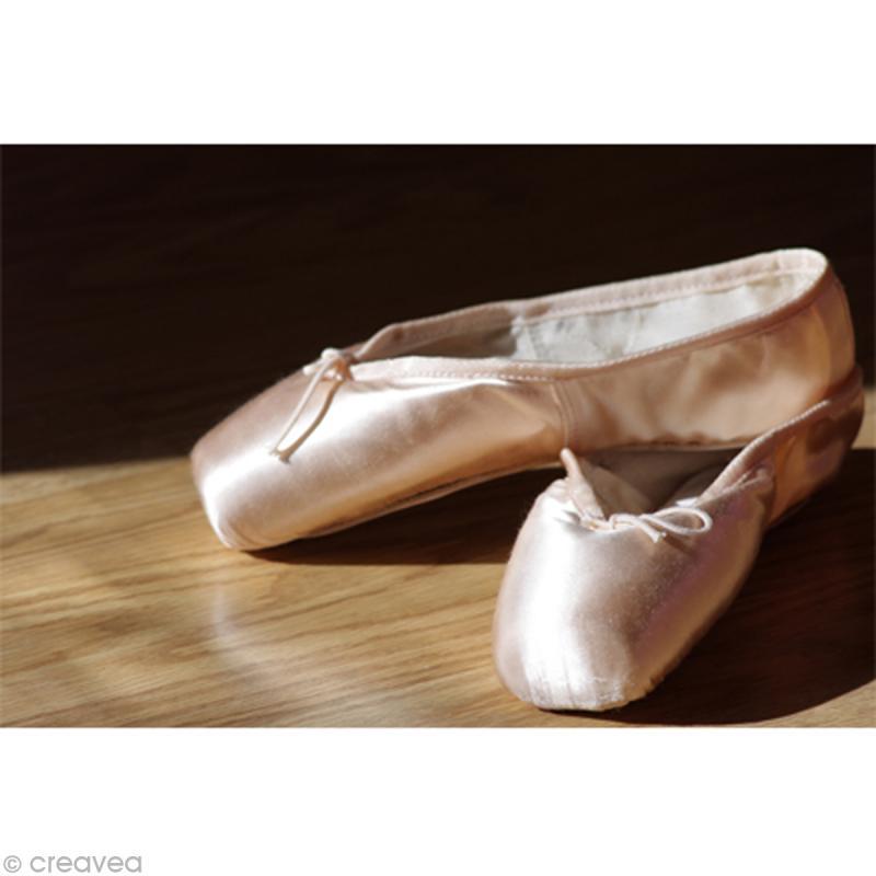 image 3d divers chaussons de danse 24 x 30 cm images 3d 24x30 cm creavea. Black Bedroom Furniture Sets. Home Design Ideas