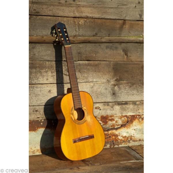 Image 3D Musique - Guitare - 24 x 30 cm - Photo n°1