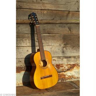 Image 3D Musique - Guitare - 24 x 30 cm