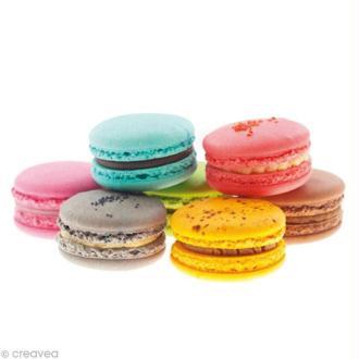 Image 3D Cuisine - 7 Macarons - 24 x 30 cm