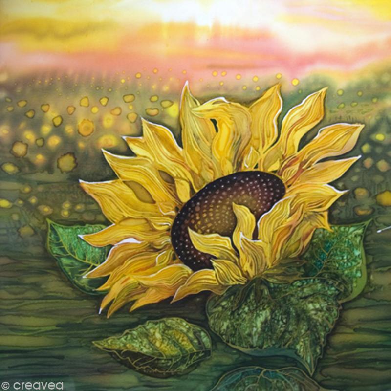 Image 3D Fleur - Tournesol - 30 x 30 cm - Photo n°1