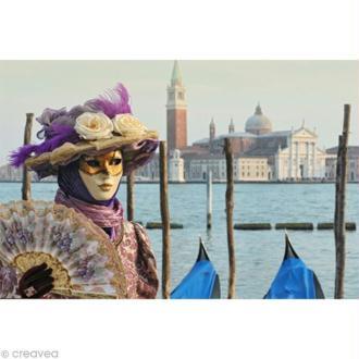 Image 3D Divers - Déguisement Venise - 30 x 40 cm