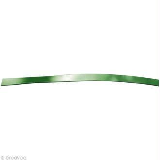 Fil aluminium plat 5mm vert foncé x 5m