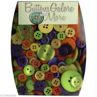 Assortiment de boutons - Thème Scary x 100 gr