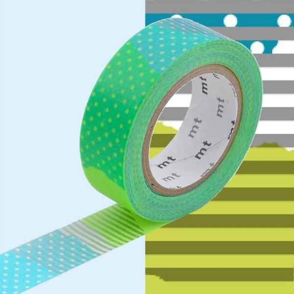 Masking Tape - Deco - E Tsugihagi - 15 mm x 10 m - Photo n°1
