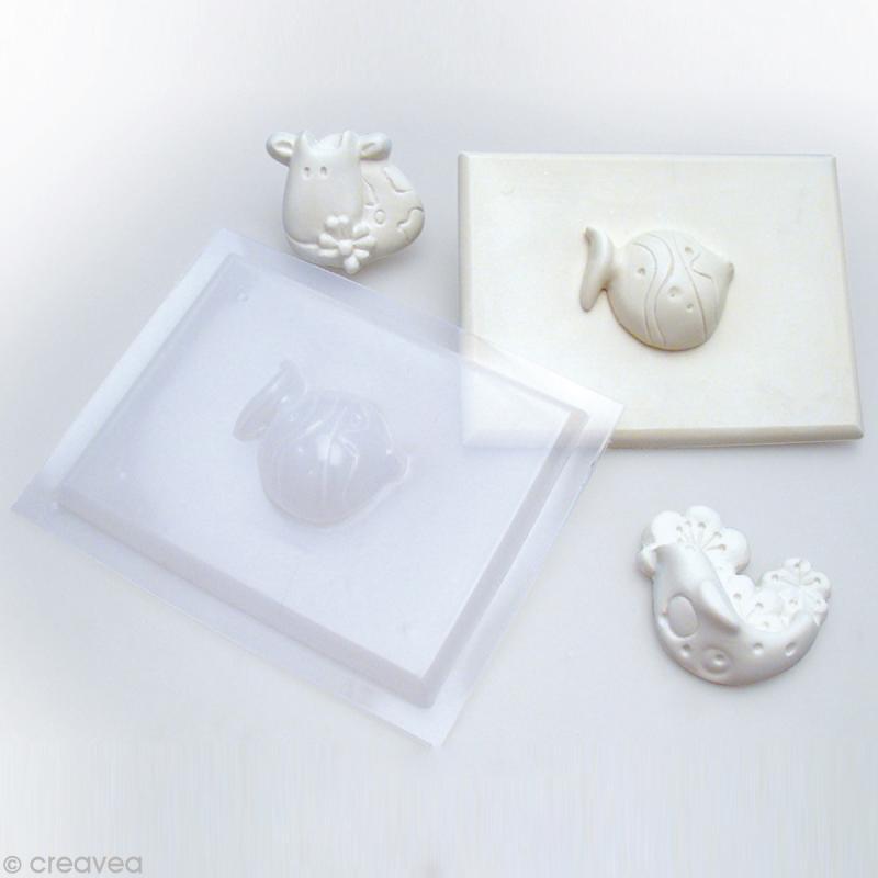 Moule thermoformé Cochon 4,5 cm - Photo n°3
