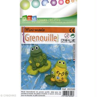 Moule thermoformé Grenouille 4,5 cm