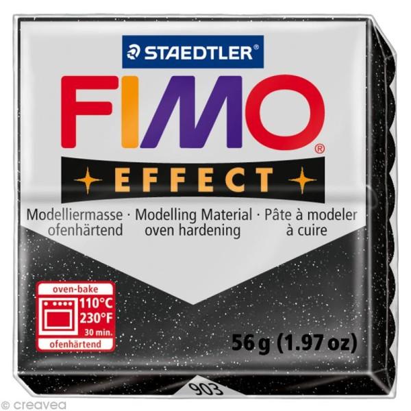 Pâte Fimo Effect Poussière d'étoiles pailleté nacré 903 - 56 gr - Photo n°1