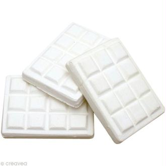 Forme en plâtre - Tablette de chocolat 5 cm