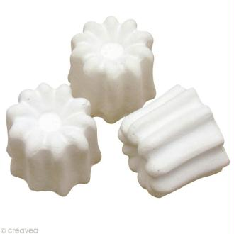 Forme en plâtre - Cannelé 3,2 cm