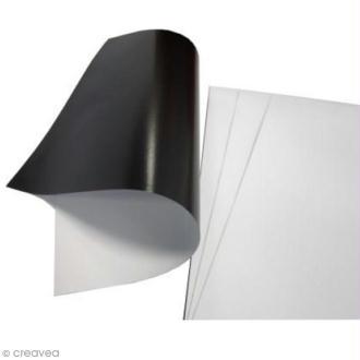 Feuille magnétique imprimable  - 3 feuilles A4