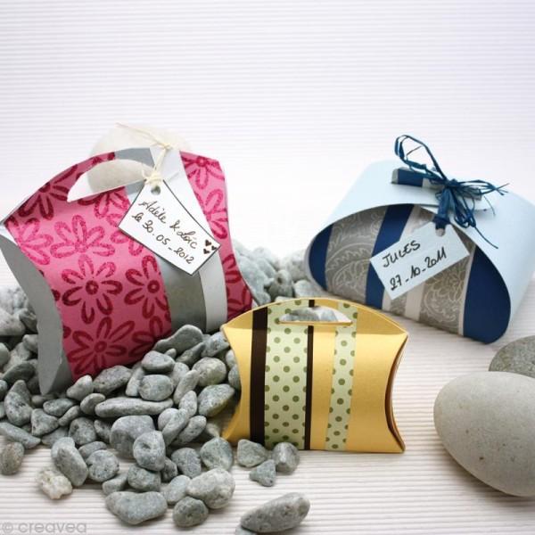 Gabarits boîte cadeau  - 3 formes - Photo n°2