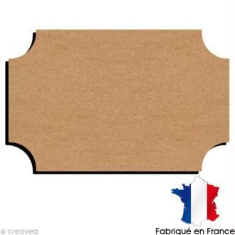 Plaque de porte en bois 22 cm