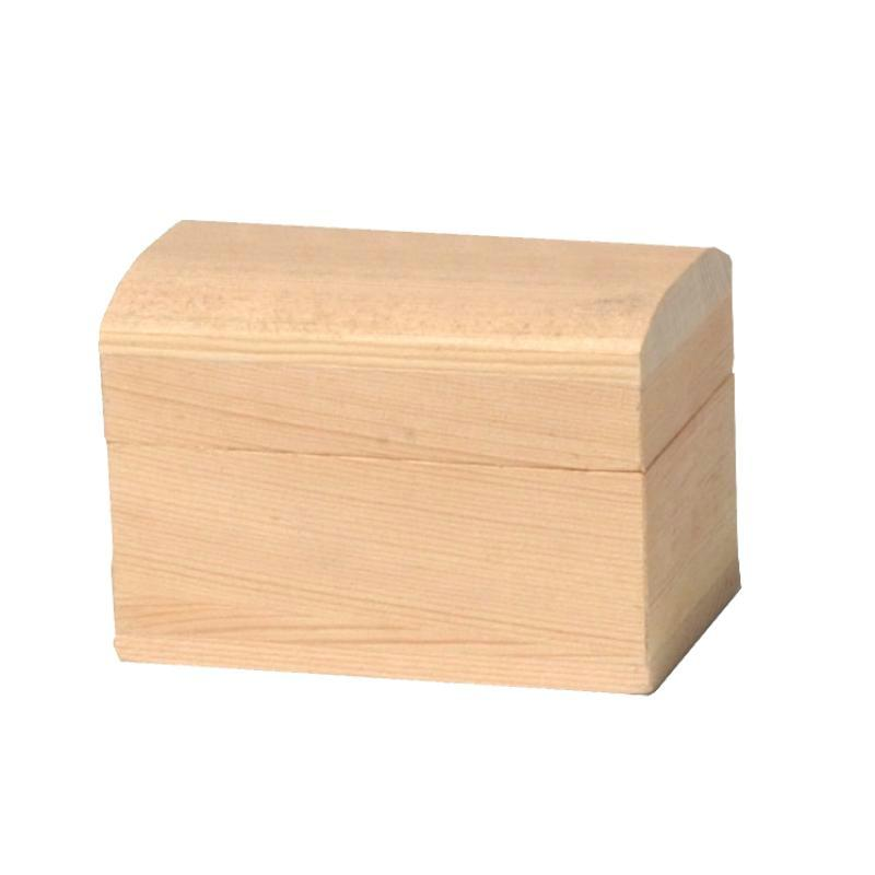 coffre en bois petit mod le 8 cm meuble miniature en bois creavea. Black Bedroom Furniture Sets. Home Design Ideas
