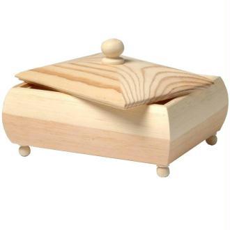 Coffret en bois 17 cm