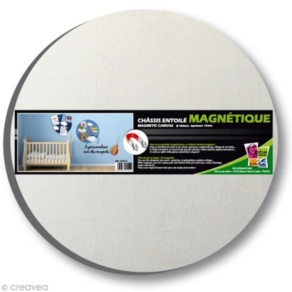 Chassis magnétique entoilé 45 cm Rond - Photo n°1