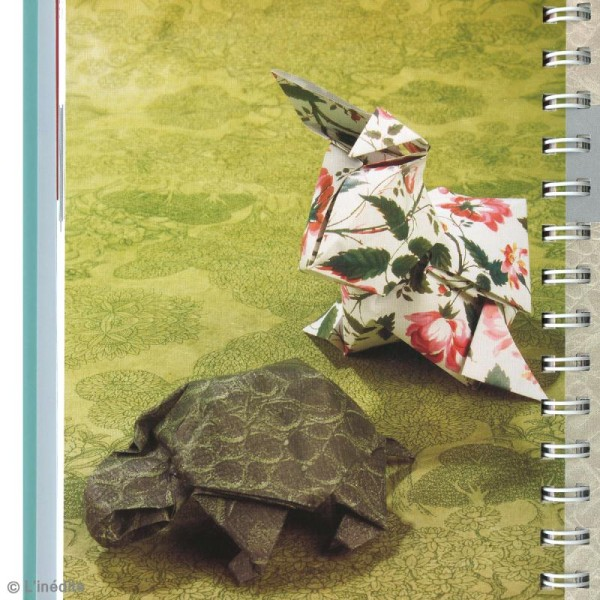 Livre L'origami de A à Z - Ashley Wood - Photo n°2