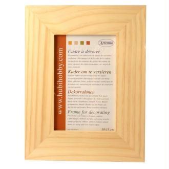 Cadre photo en bois - format photo 10 x 15 cm