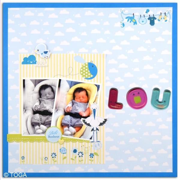 Funny stickers - epoxy - Tigre x 47 - Photo n°3