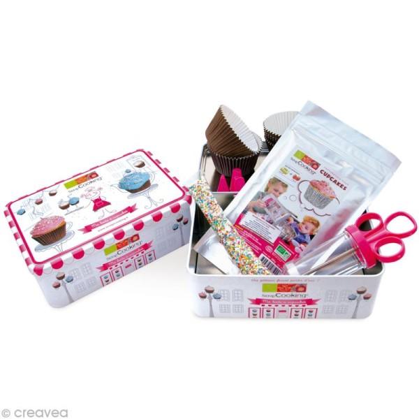 Kit pâtisserie - Ma boîte à cupcakes - Photo n°1