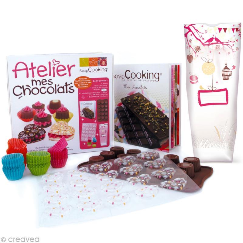 Coffret atelier mes chocolats coffret cuisine cr ative creavea - Coffret cuisine creative ...