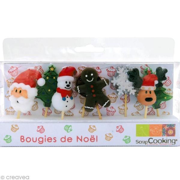 Bougies de Noël x 8 - Photo n°1
